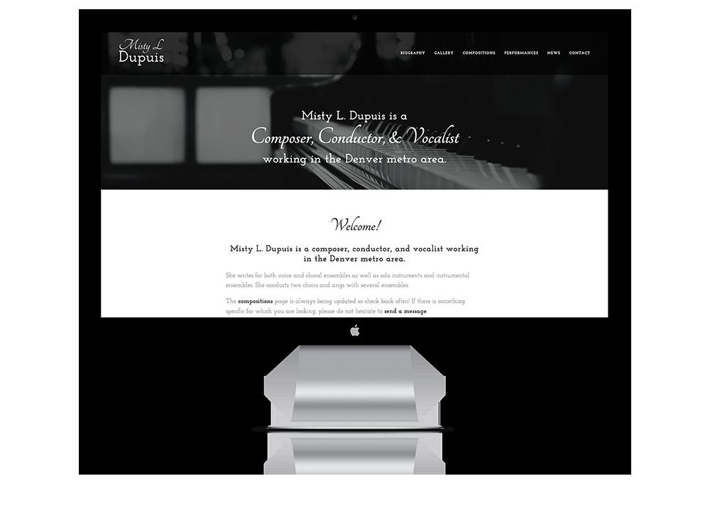 Website for Misty L Dupuis