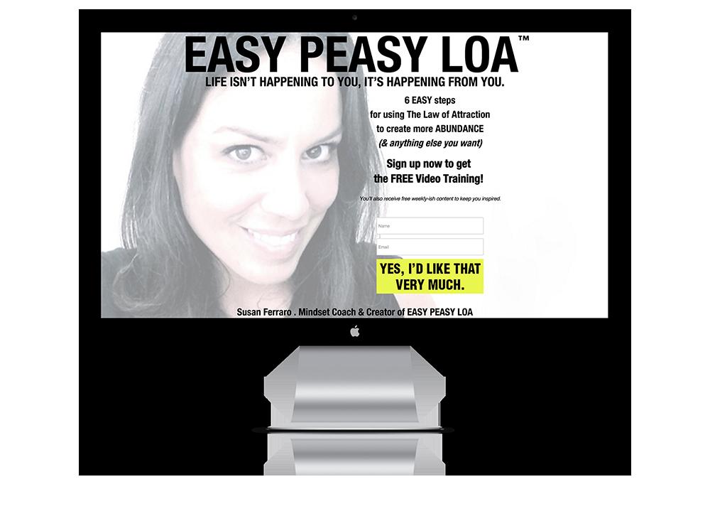 Membership Site for Easy Peasy LOA