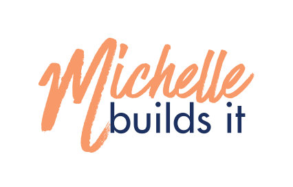 Logo for Michelle Builds It